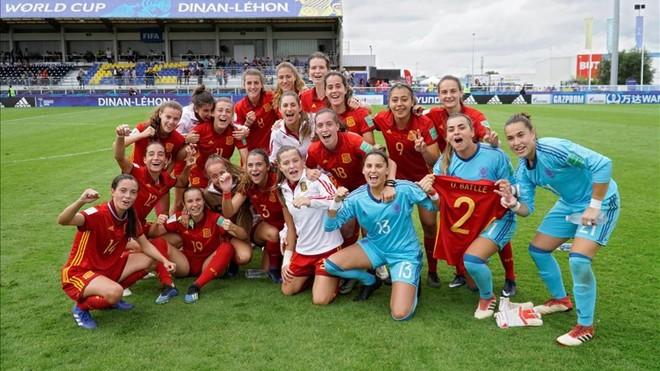 España hace historia y se mete en semifinales del Mundial sub20