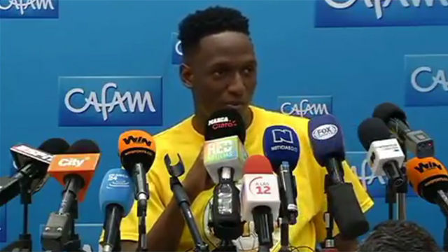 Yerry Mina habla sobre su futuro en el Barcelona