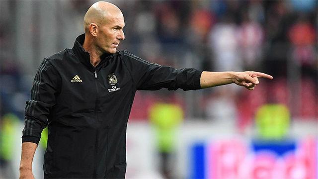 Zidane: Vamos a hacer muchas cosas este año