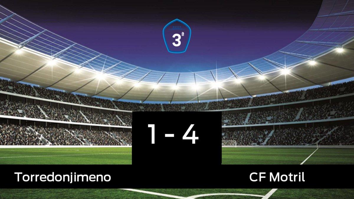 El Motril doblegó al Torredonjimeno por 1-4