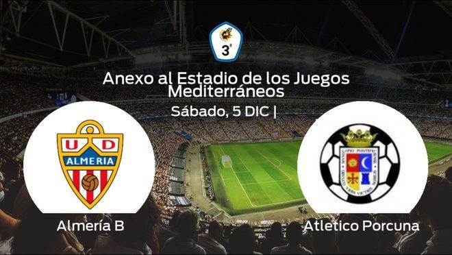 Previa del encuentro: el Almería B recibe al Atletico Porcuna