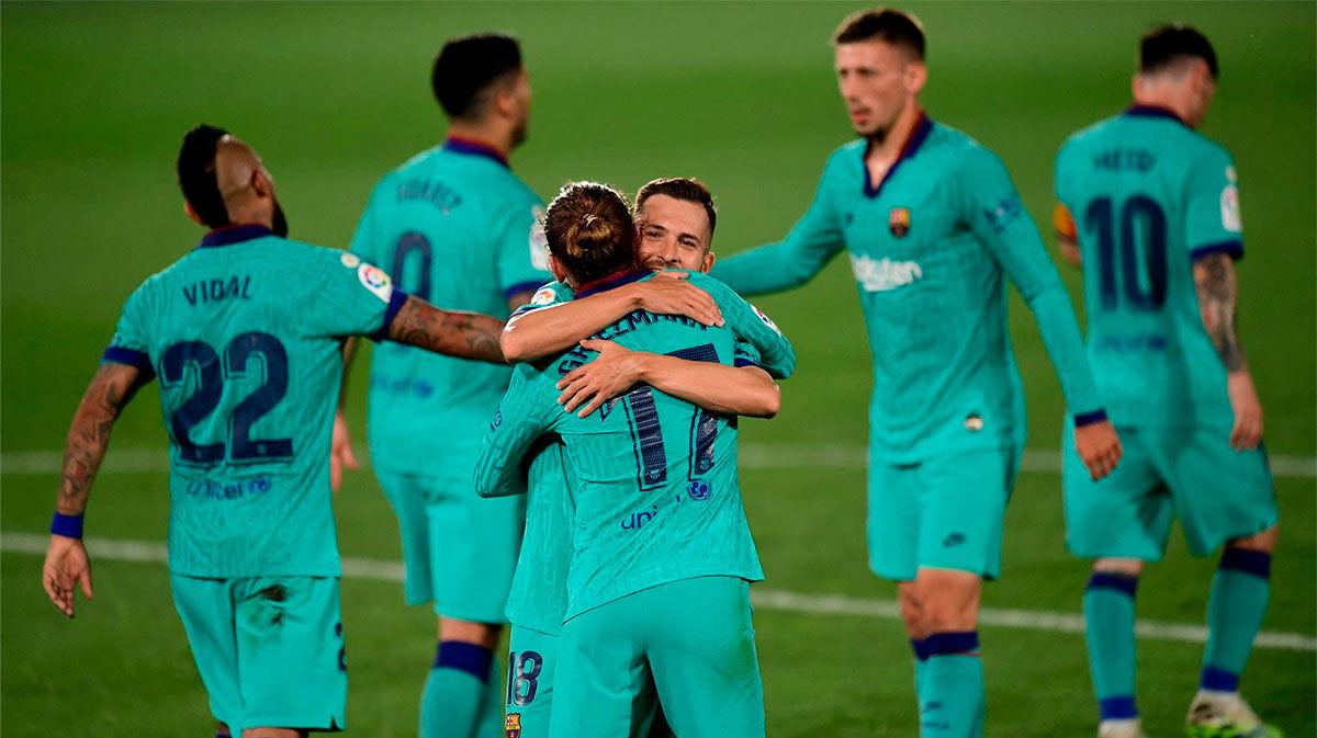 El 1x1 del Villarreal-Barça