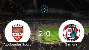 El Alcobendas Sport comienza con ilusión la semifinal de los playoff tras ganar 2-0
