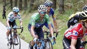 Alejandro Valverde, durante la edición del año pasado