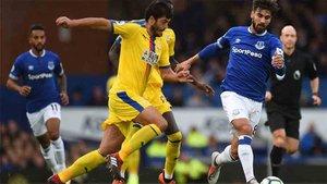 André Gomes debutó con el Everton
