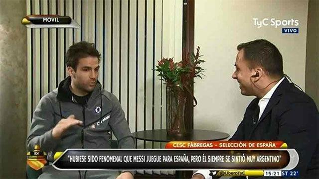 La anécdota del primer encuentro entre Fábregas y Messi