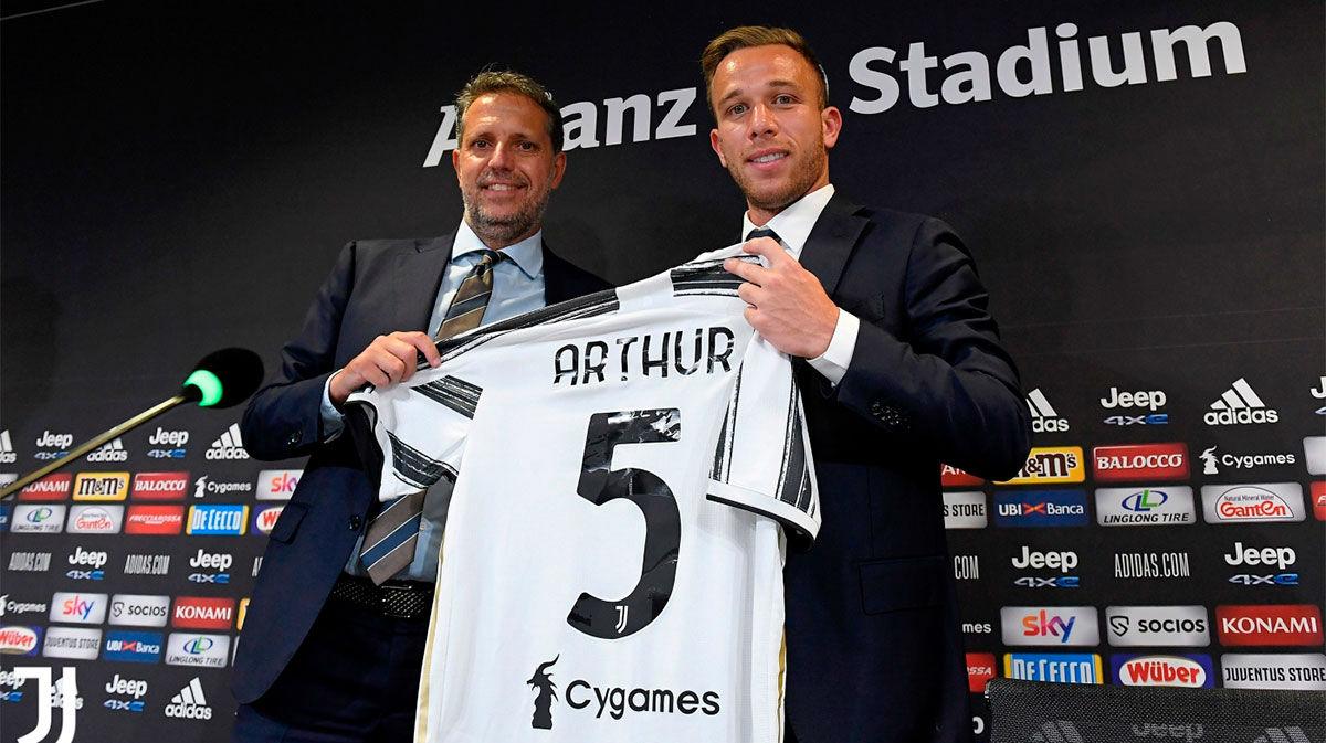 Arthur da las gracias al Barcelona y avala el fichaje de Luis Suárez