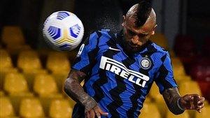Arturo Vidal, pieza importante para el Inter de Antonio Conte