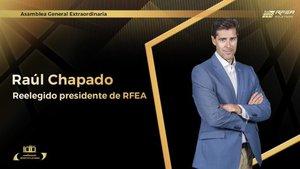 La Asamblea de la RFEA ha reelegido a Chapado como presidente