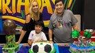 Así celebró Diego Maradona y su esposa el cumpleaños de su hijo