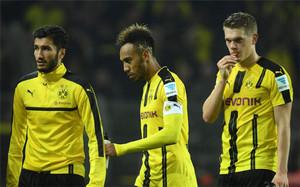 Aubameyang, estrella del Borussia Dortmund