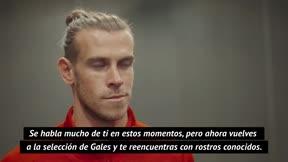 Bale: En la selección me siento cómodo, amado y querido
