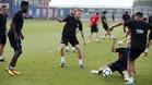 El FC Barcelona trabajó en la Ciutat Esportiva Joan Gamper