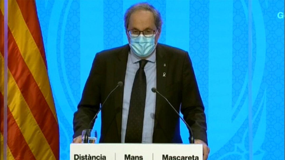 Cataluña prohíbe las reuniones de más de diez personas en todo su territorio