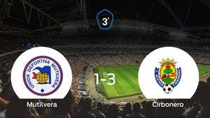 El Cirbonero vence 1-3 en el estadio del Mutilvera