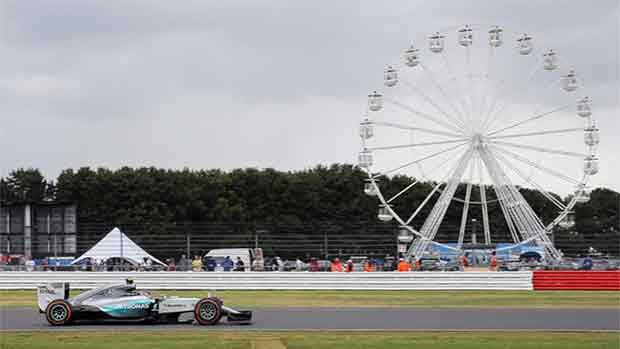 El circuito de Silverstone del GP de Gran Bretaña (ES)
