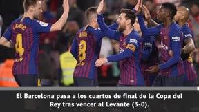 La clasificación del Barça, envuelta en polémica