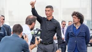 Cristiano Ronaldo, presentado por todo lo alto ante los medios
