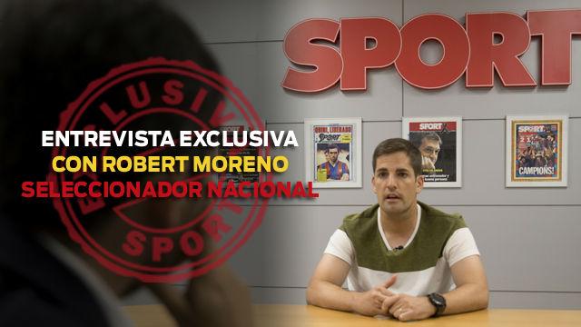 Entrevista a Robert Moreno: Me dolió lo que pasó con Valverde
