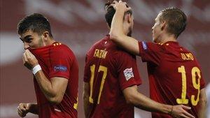 España goleó con solvencia a Alemania