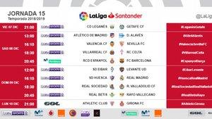 El Espanyol recibe al Barça el 8 de diciembre
