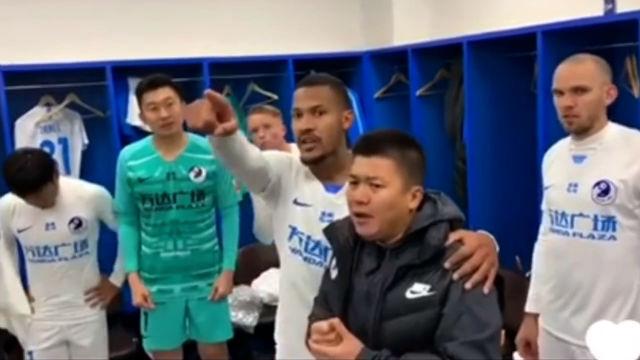 Espectacular Rondón en la liga china: salva a su equipo y discurso épico para celebrarlo