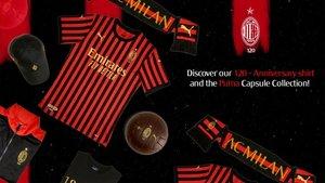 Esta es la nueva camiseta del AC Milan
