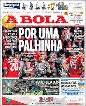 Esta es la portada de A Bola del domingo 16 de febrero