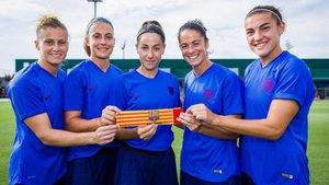Estas son las cinco capitanas del equipo femenino