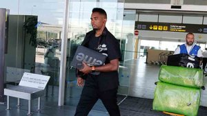 Etoo está en Barcelona