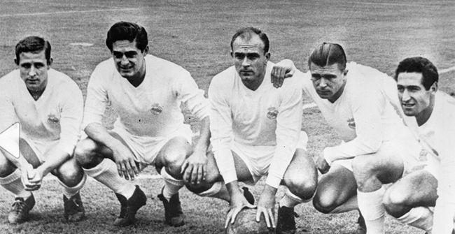 Final Champions Real Madrid - Stade Reims (2-0). 1958 - 1959