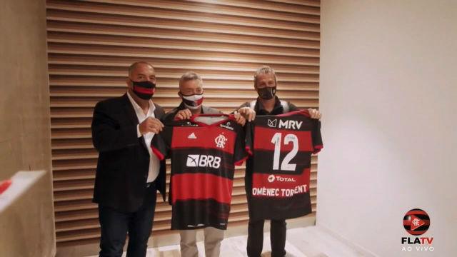 Flamengo presenta a Domènec Torrent como su nuevo director técnico