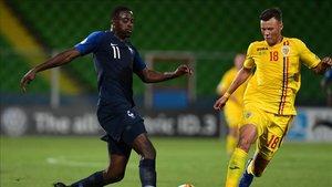 Francia y Rumania empataron en el úlitmo partido del Grupo C