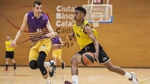 Grupo Marthe UE Mataró y CB Castellar vivieron el pasado fin de semana un vibrante partido