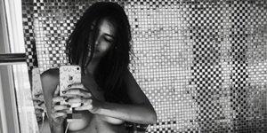 El impactante desnudo de Emily Ratajkowski y su marido