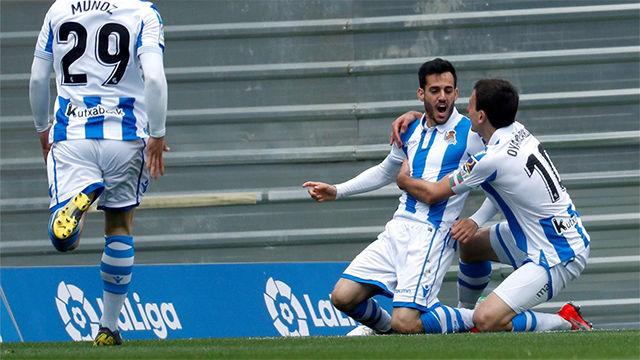 Juanmi necesitó ¡13 segundos! para marcar ante el Eibar