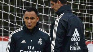 Keylor Navas no está a gusto en el Real Madrid