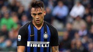 A Lautaro le costó hacerse un hueco en el Inter