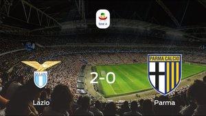 El Lazio derrota 2-0 al Parma en el Olimpico di Roma
