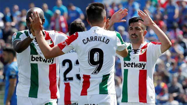El Leganés da la sorpresa al ganar en Getafe