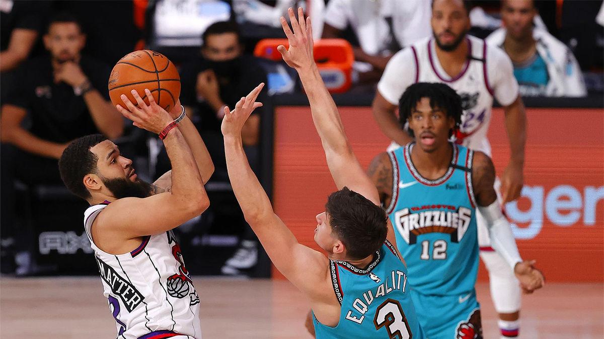 Los Raptors ganan a los Grizzlies en una gran noche de Siakam