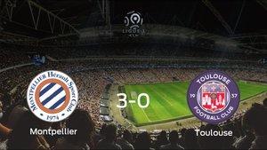 Los tres puntos se quedan en casa: goleada del Montpellier HSC al FC Toulouse (3-0)