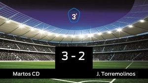 Los tres puntos se quedaron en casa: Martos 3-2 Torremolinos
