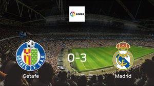 Madrid score 3 in win against Getafe 0-3 at Coliseum Alfonso Pérez