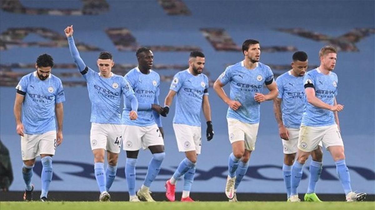 El Manchester City goleó al Burnley