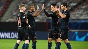 El Manchester City también consiguió la clasificación para octavos de la Champions League