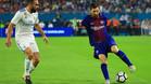 Messi fue un auténtico incordio para la defensa del Real Madrid