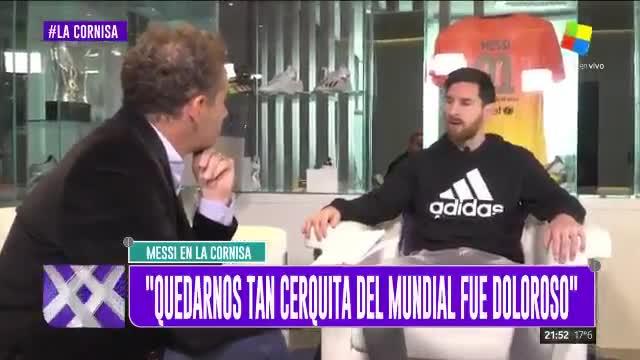 Messi habló sobre las críticas que recibe