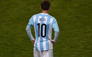 Messi, en un partido de la Copa América con la selección de Argentina
