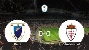 El Parla y el Real Carabanchel firman un empate sin goles (0-0)